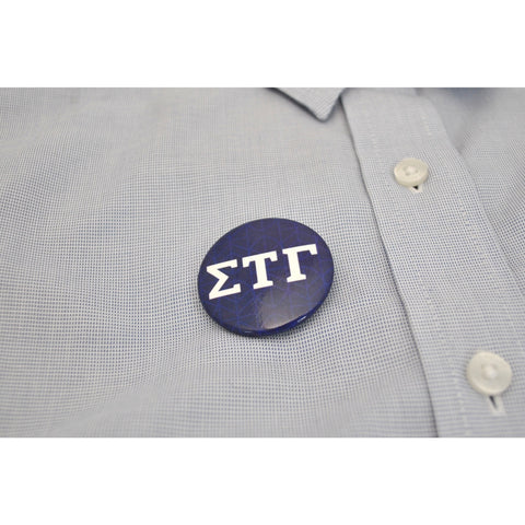 "1.5"" STG Greek Letter Button"
