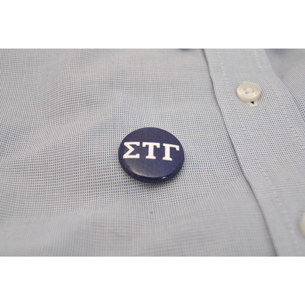 "1"" STG Greek Letter Button"