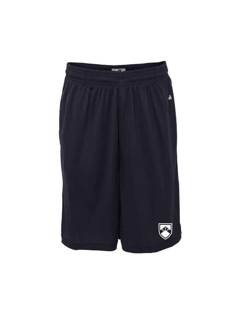 Sig Tau Shield Athletic Shorts