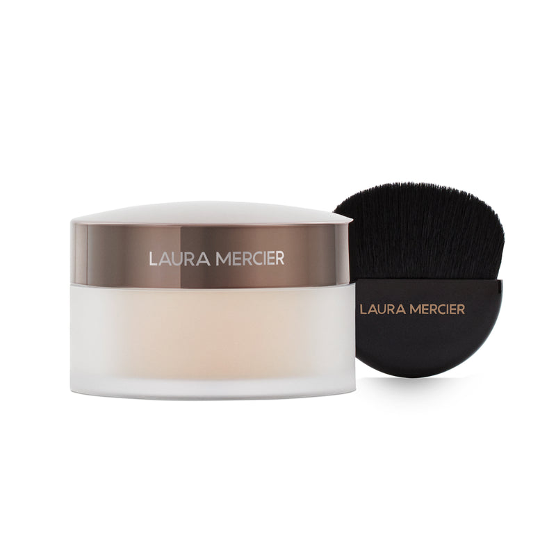 Laura Mercier - Set To Glow Translucent Loose Setting Powder Glow & Brush Set