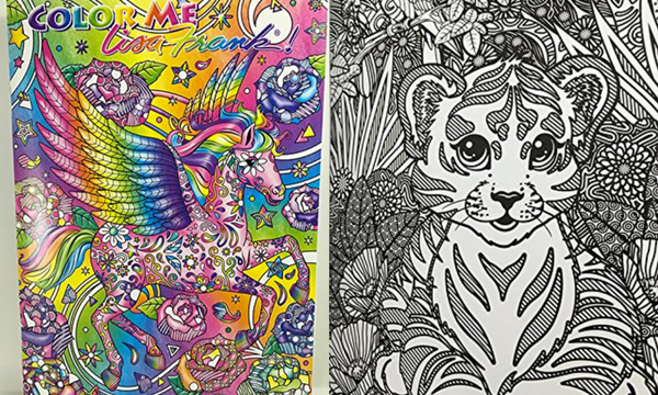 Lisa Frank Adult Coloring Books Creatively Calm Studios