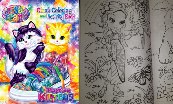 - Lisa Frank Adult Coloring Books Creatively Calm Studios
