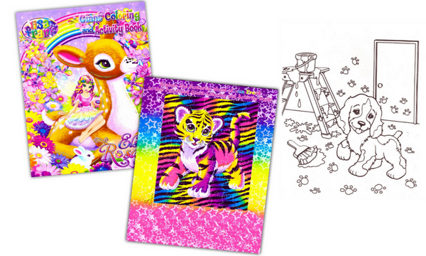 lisa-frank-adult-coloring-activity-book-set