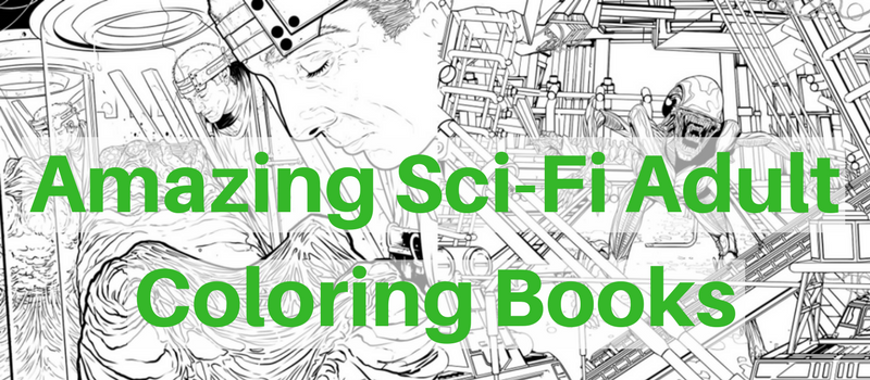 Cool Adult Coloring Books