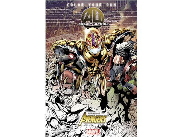 Age Ultron Marvel Adult Coloring Book