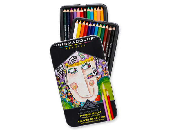 Prismacolor Pencil Coloring Book Kit