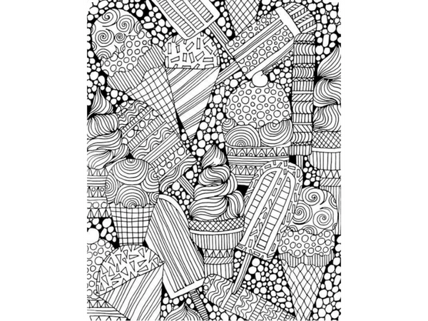 Free Cool Coloring Pages For Adults | Creatively Calm Studios