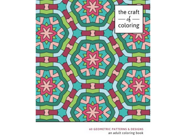 The Best Geometric Coloring Books For Adults | Creatively Calm Studios