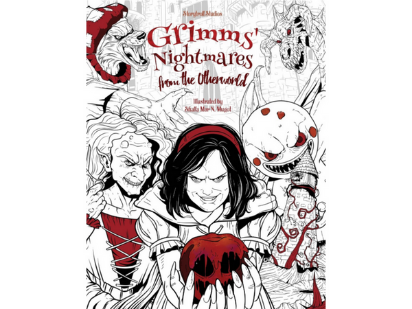 grimms-halloween-adult-coloring-book