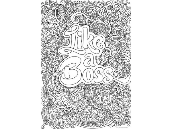 5 Epic Detailed Coloring Pages For Adults Creatively Calm Studios