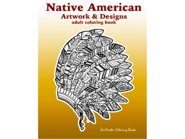 Native American Inspired Adult Coloring Books | Creatively Calm Studios