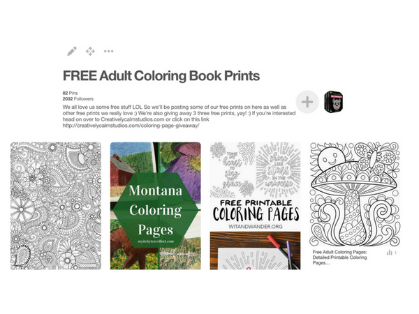 free-adult-coloring-pages-pinterest