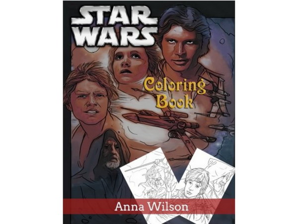 The Top Star Wars Adult Coloring Books Creatively Calm Studios