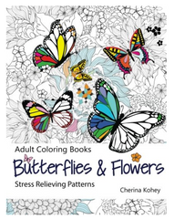 adult-flower-coloring-pages-butterflies