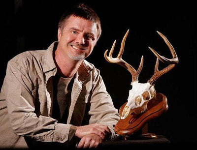 Skull and void: Skulls Unlimited in Oklahoma City specializes in European mounts for hunters
