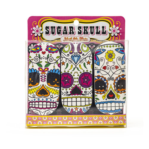 Novelty Skull Emery Board (Nail File)