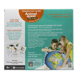 Animal Quest Inflatable Globe and Game
