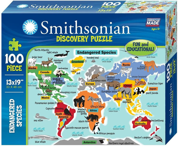Smithsonian Endangered Species Puzzle