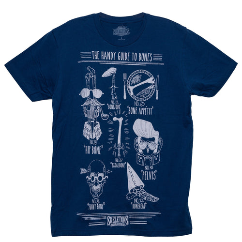 The Handy Guide to Bones T-Shirt