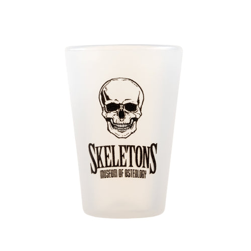 Skeletons: Museum Of Osteology Silicone Shot Glass