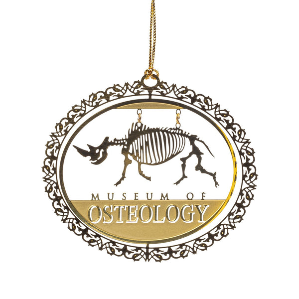 Museum of Osteology Ornament - Rhino