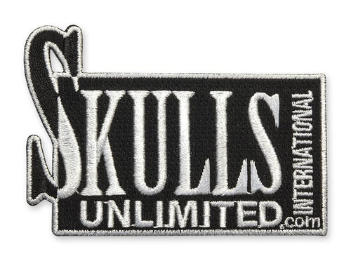Skulls Unlimited Skeleton Logo Patch