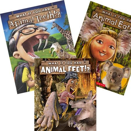 """What If You Had Animal..."" Book Series (by Sandra Markle and Illustrated by Howard McWilliam)"