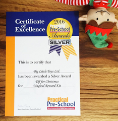 Practical PreSchool Award Elf for Christmas