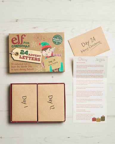 Second Edition Advent Letter Set (2018), Unique Christmas Advent Calendar Idea