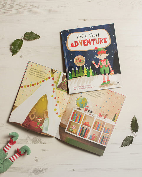 Christmas In Australia Book.Elf S First Adventure Illustrated Christmas Story Book