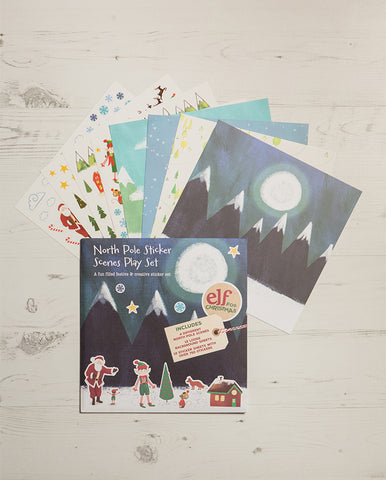 North Pole Sticker Set