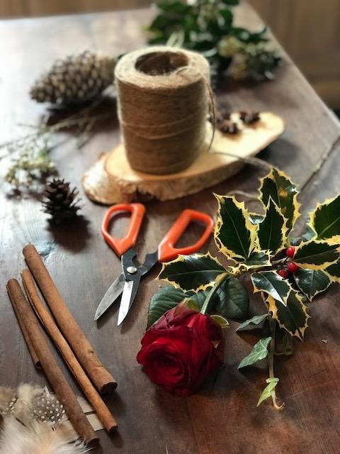 Lavender and Grey - Sherborne Florists Christmas Flowers 2019