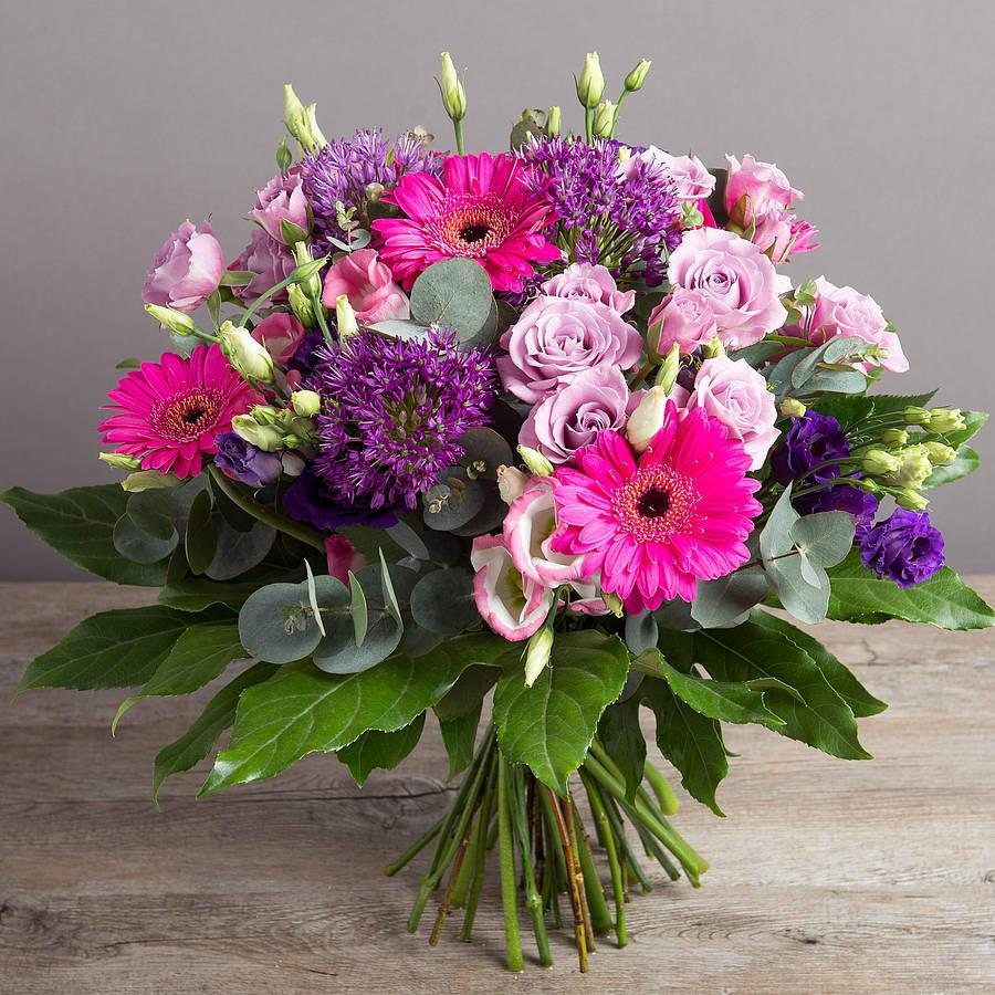 Lila - Cerise and Lilac Bouquet