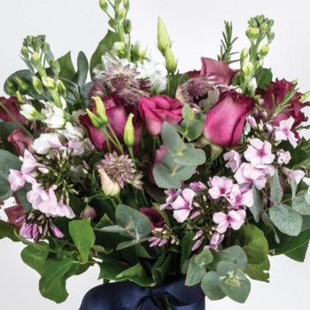 Bere - Lilac and Cerise Stocks Bouquet.