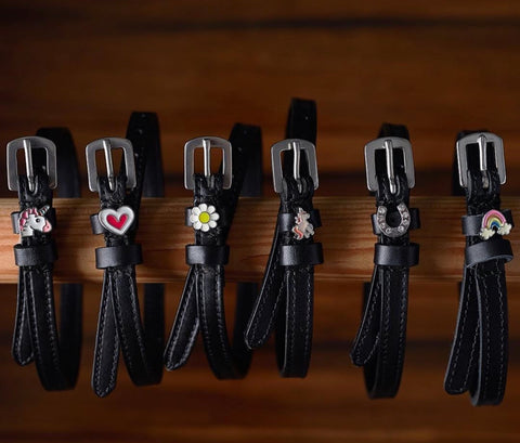Equestrians with a Personal Touch: ManeJane Spur Straps