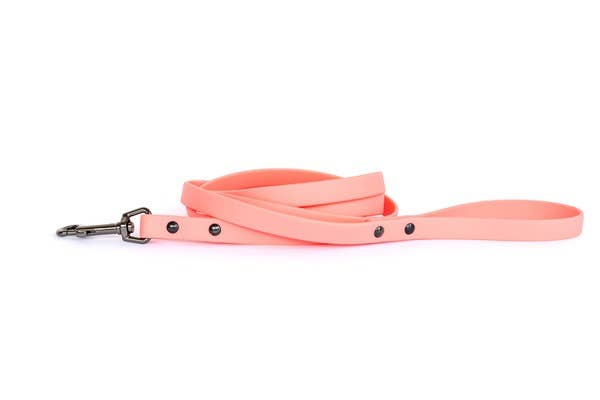 Euro-Dog Collars and Leads - Leash Waterproof - Coral