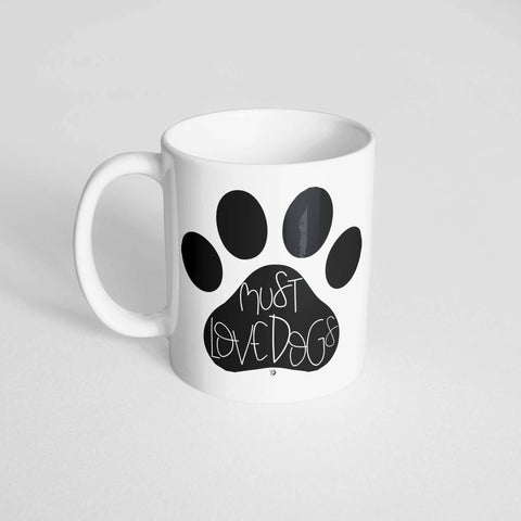 The Dapper Paw - Must Love Dogs Mug