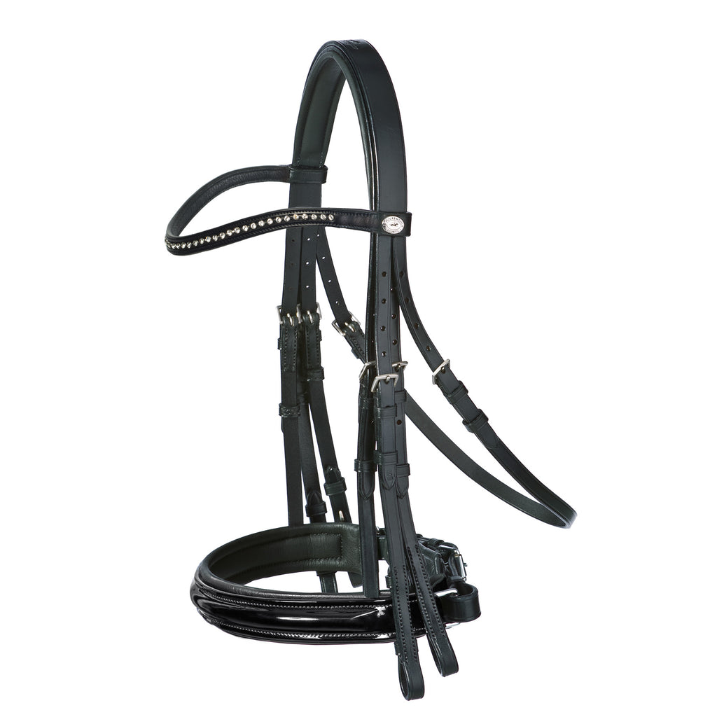 Double Bridle BASIC Diamonds