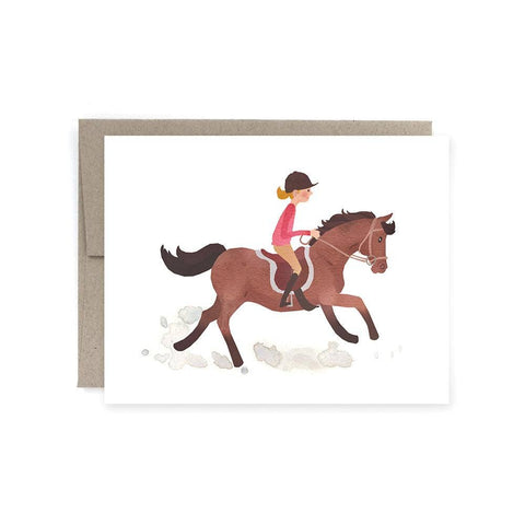 Art of Melodious - Pony Canter Card