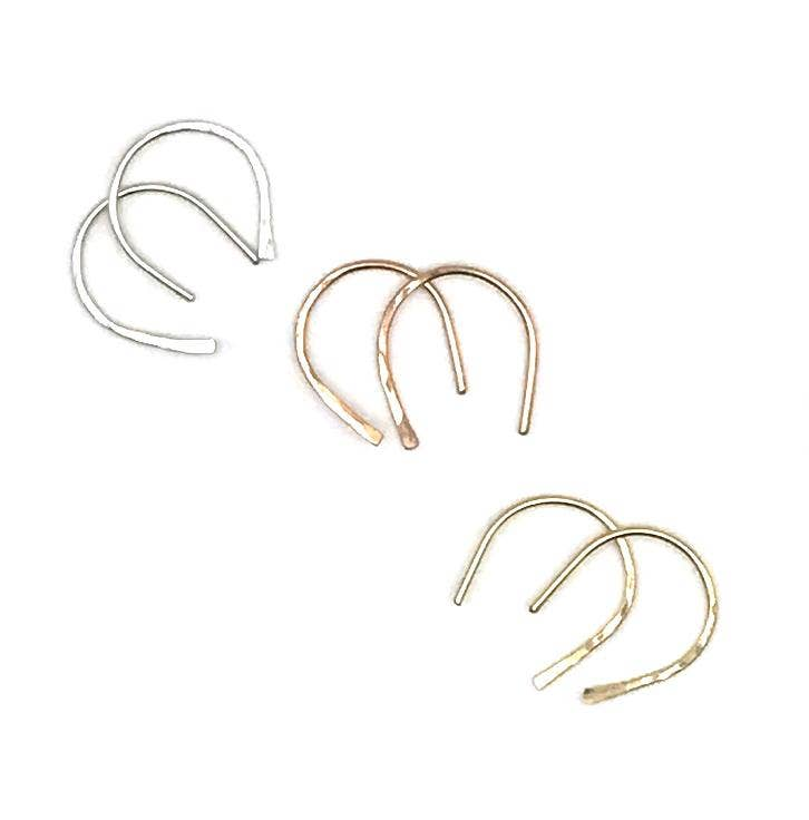 Adorn512 - Horseshoe Earrings