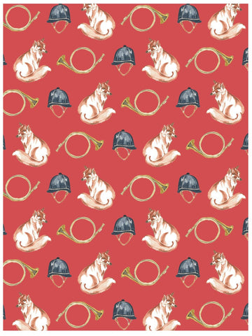 REVEL & Co. - The Hunt Gift Wrap Roll (3 sheets/roll)