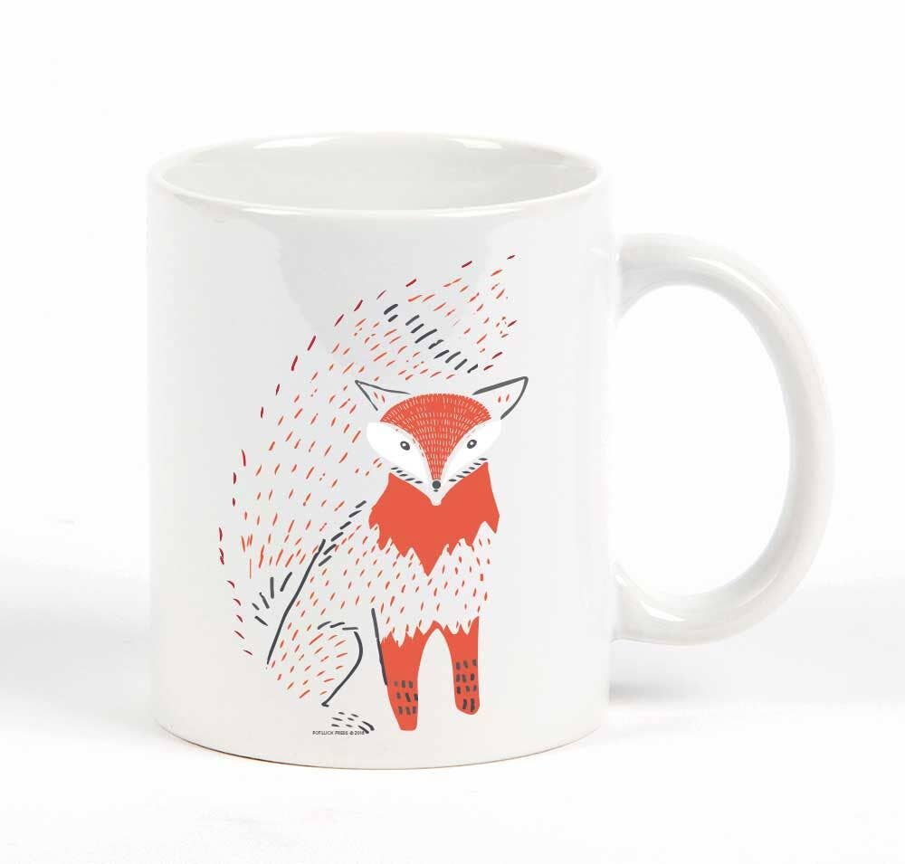Fox Bushy Tail Mug