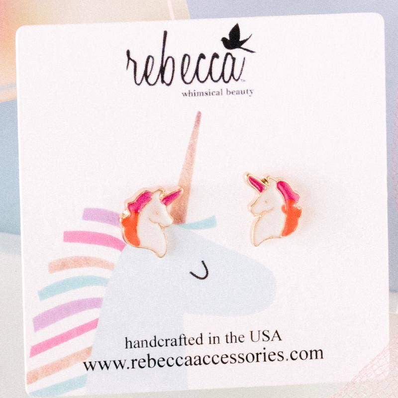 Rebecca Accessories - Unicorn Earring