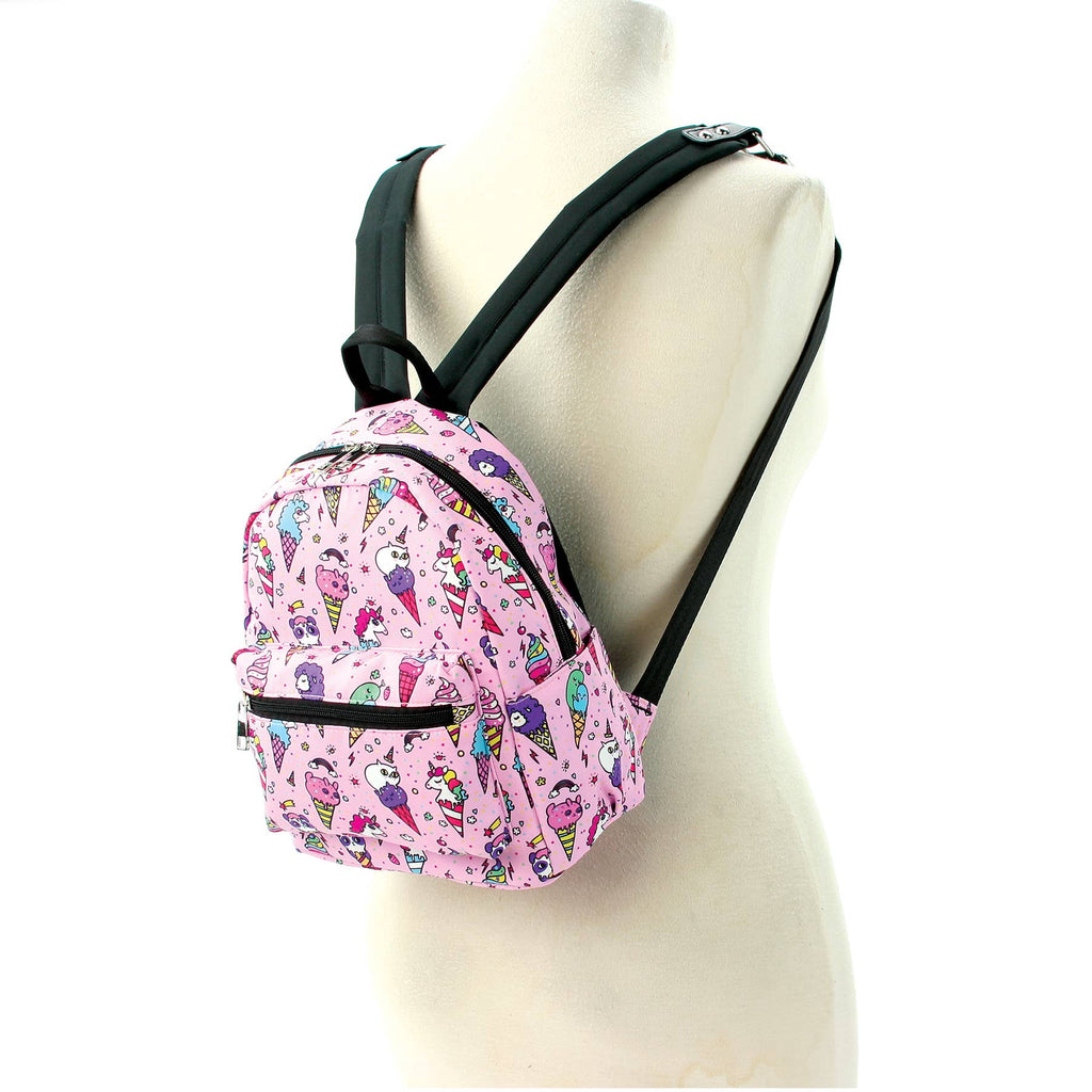 COMECO INC - 89182CN Fairy Ice Cream Mini Backpack in Polyester Material