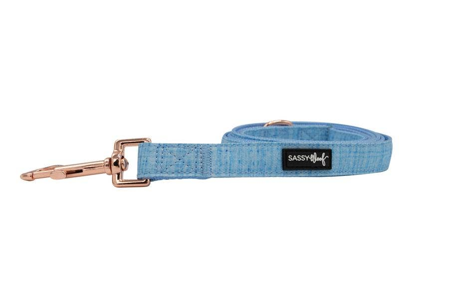 SASSY WOOF - 'Blumond' Fabric Leash