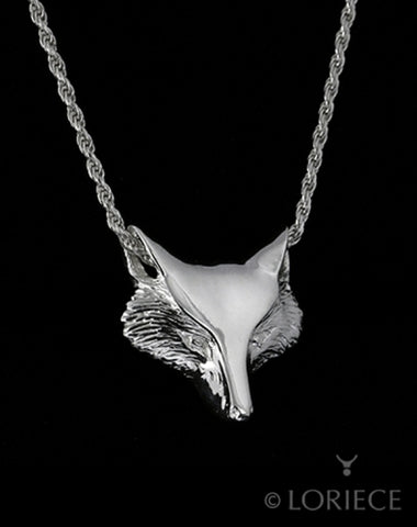 LORIECE EQUESTRIAN FOX MASK SLIDER NECKLACE