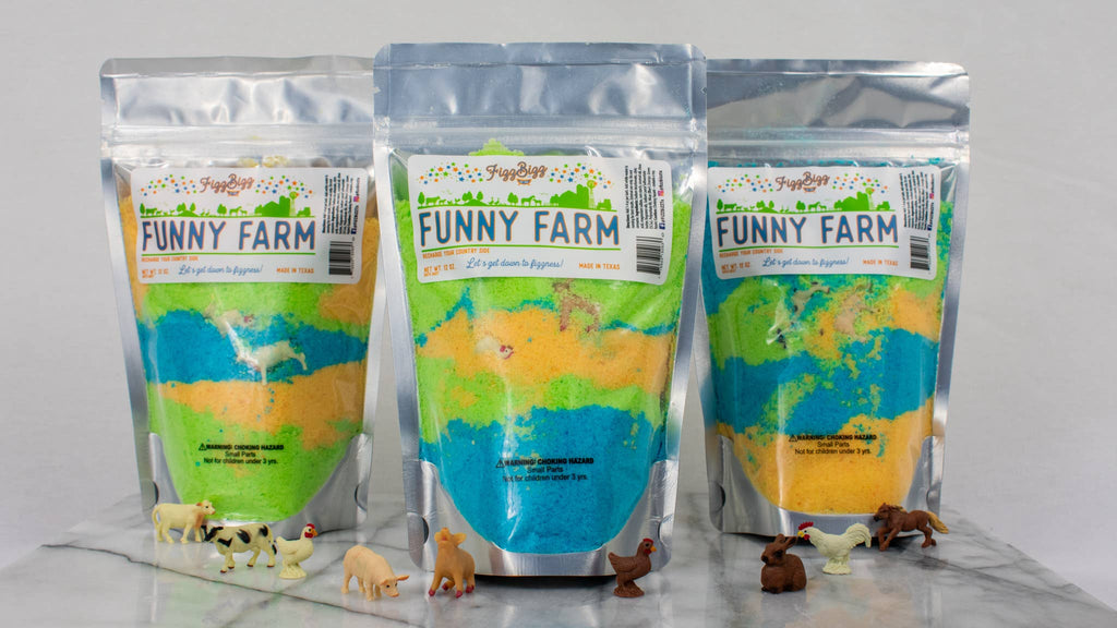 Fizz Bizz LLC - Funny Farm - Kids Bath Salts