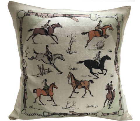 Ox Bow Decor - Equestrian Medley Pillow