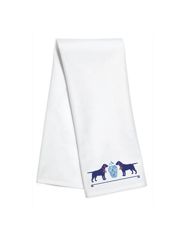 Toss Designs - Kitchen Towels: Tassel Dogs art by WH Hostess