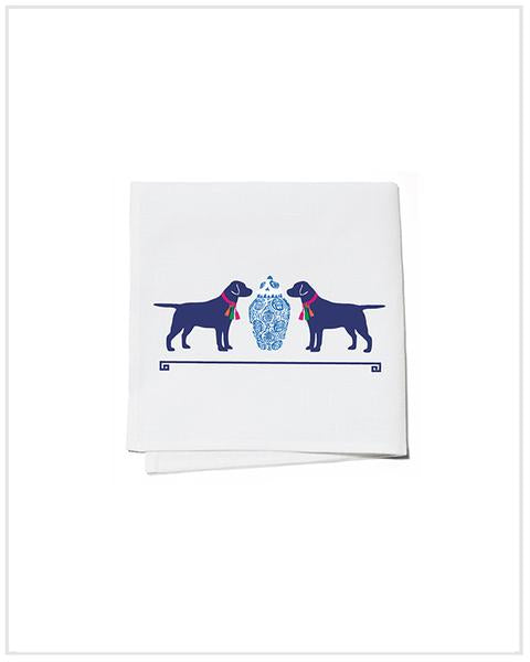 Toss Designs - Cocktail Napkin: Tassel Dogs by WH Hostess